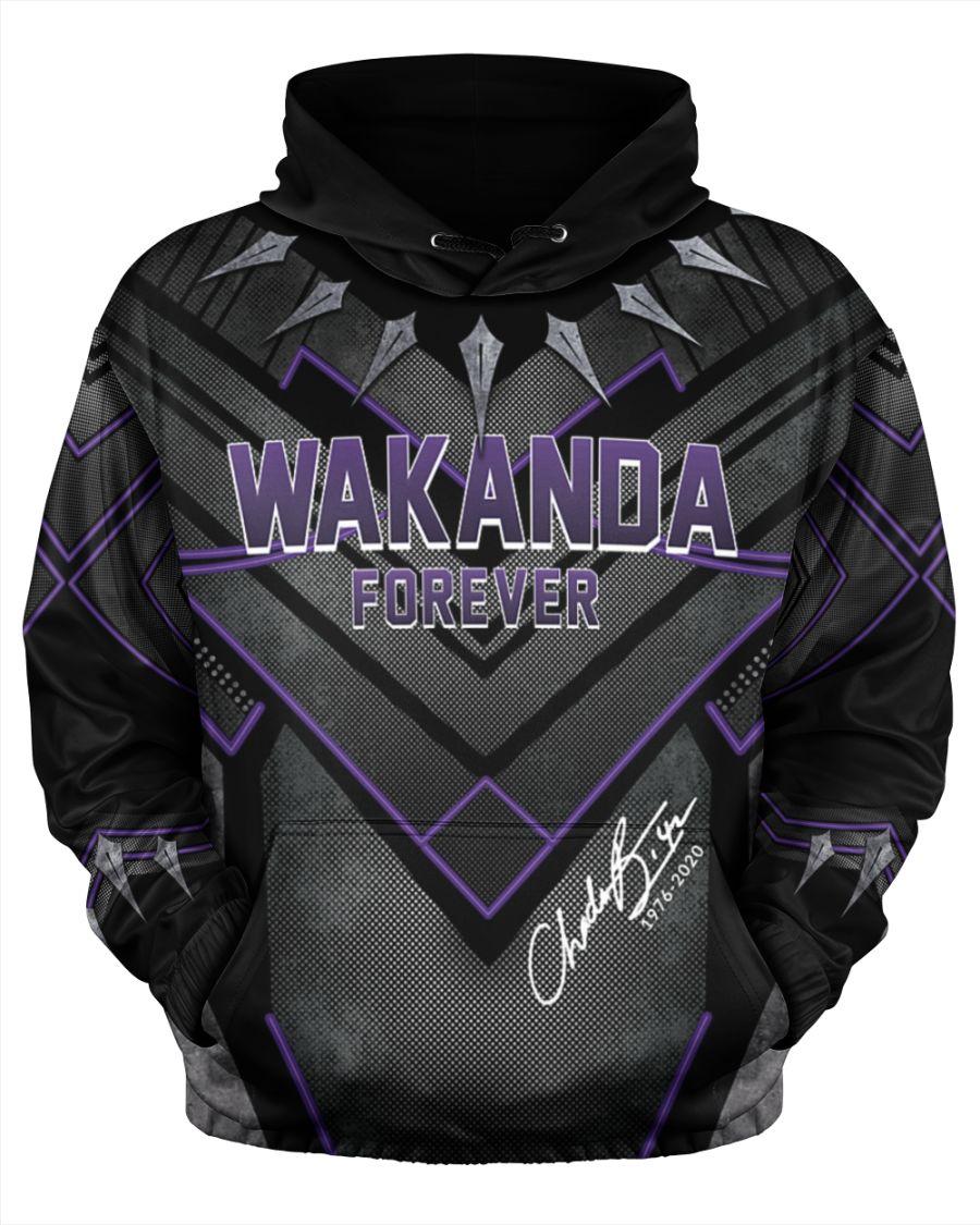 Chadwick boseman wakanda forever all over print hoodie - Hothot 040920