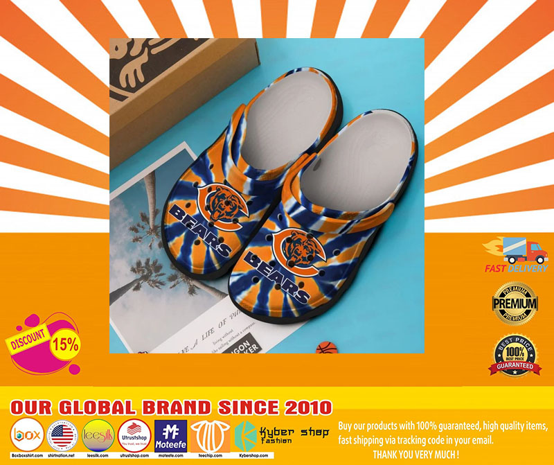 Chicago Bear crocband crocs shoes - LIMITED EDITION