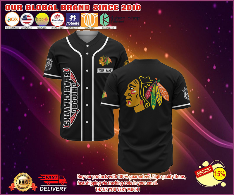 limited edition blackhawks jersey