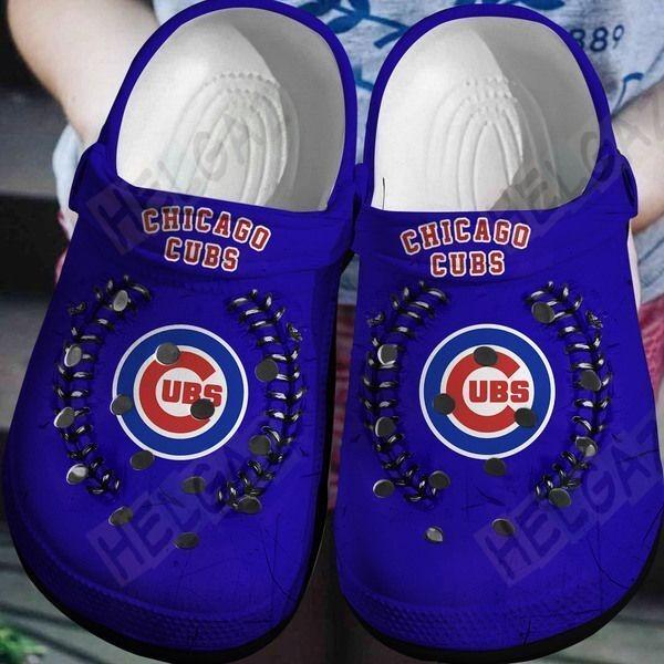 Chicago cubs crocband crocs shoes