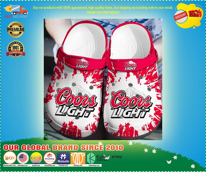 Coors light crocband crocs shoes - LIMITED EDITION