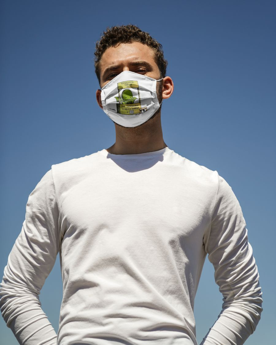 Cthulhu psychological torture face mask - Hothot 040920