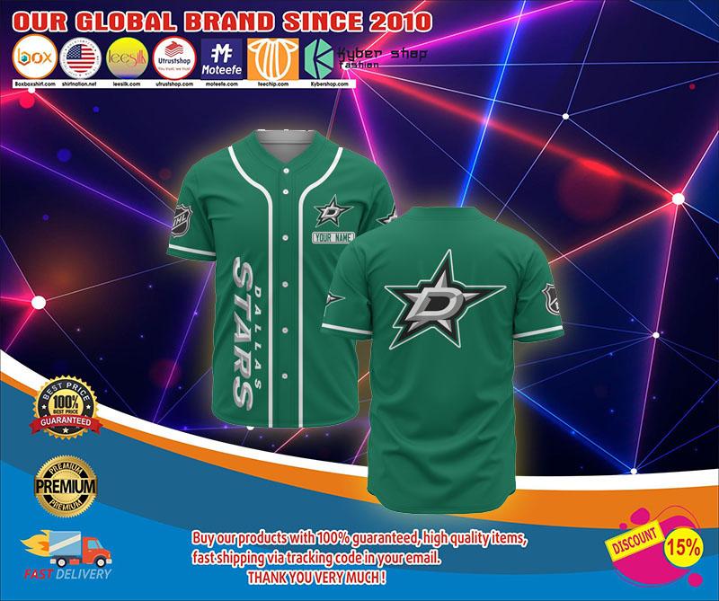 Dallas Star baseball jersey shirt 1