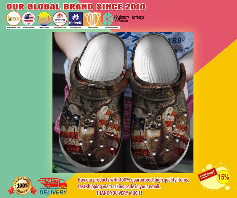 Deer hunting crocband crocs shoes1