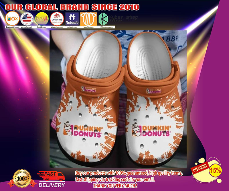 Dunkin' donut crocband  crocs shoes - LIMITED EDITION