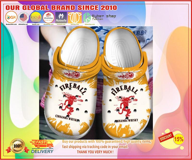 Fireball cinnamon whisky crocband crocs shoes - LIMITED EDITION
