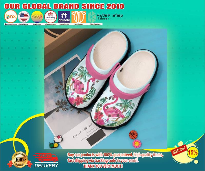 Flamingo crocs shoes - LIMITED EDITION