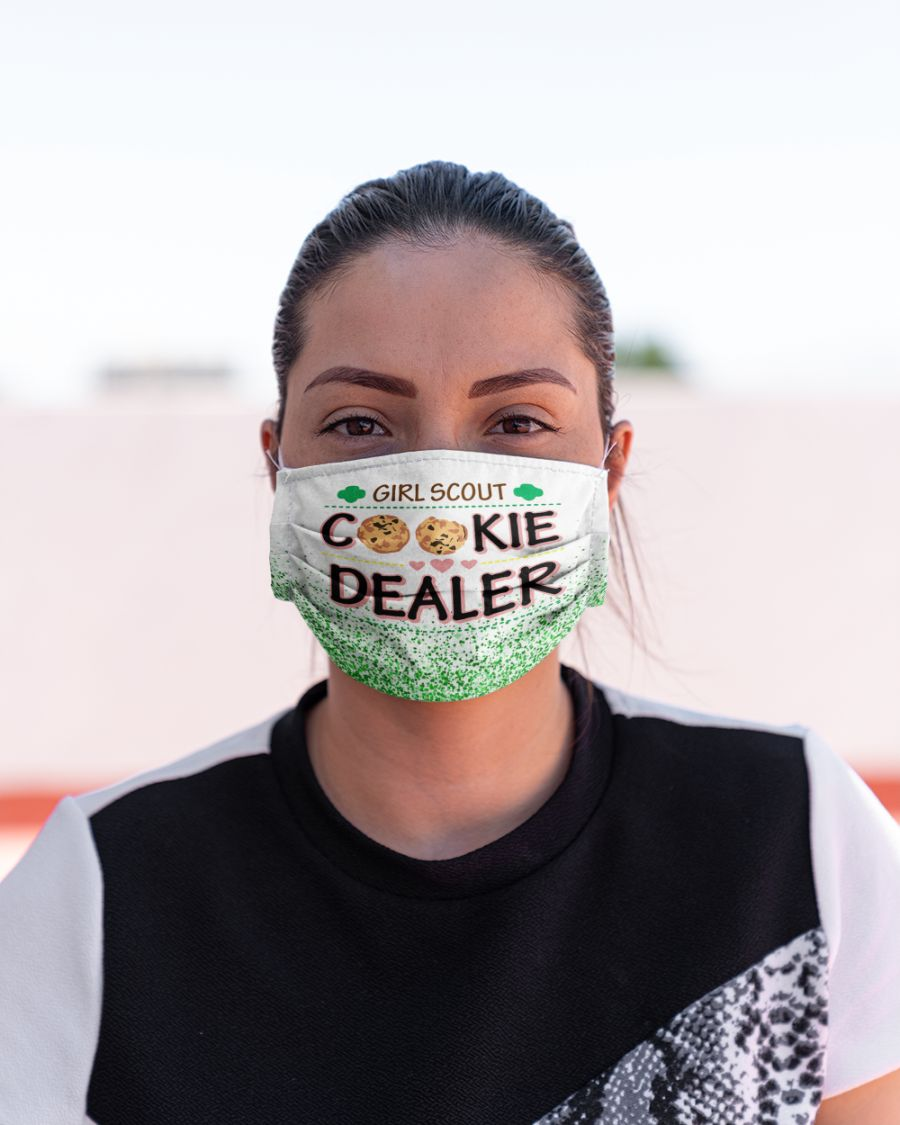 Girl scout cookie dealer face mask - Hothot 050920