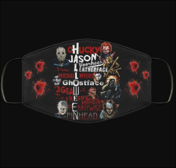 Halloween Chucky Jason Leatherface Michael Myers Ghostface face mask