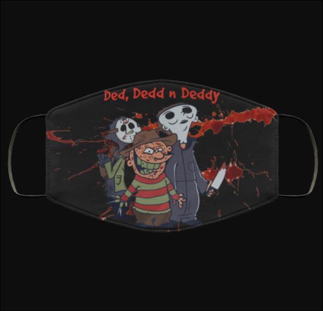 Halloween Ded Dedd N Deddy face mask