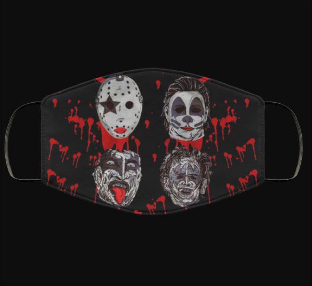 Halloween Horror Kiss Band Parody face mask