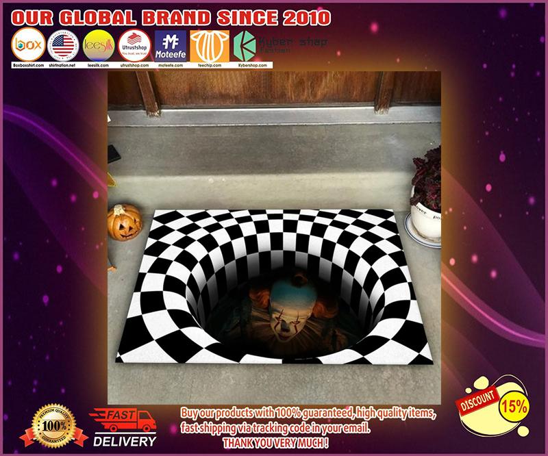 Halloween IT illusion doormat - LIMITED EDITION