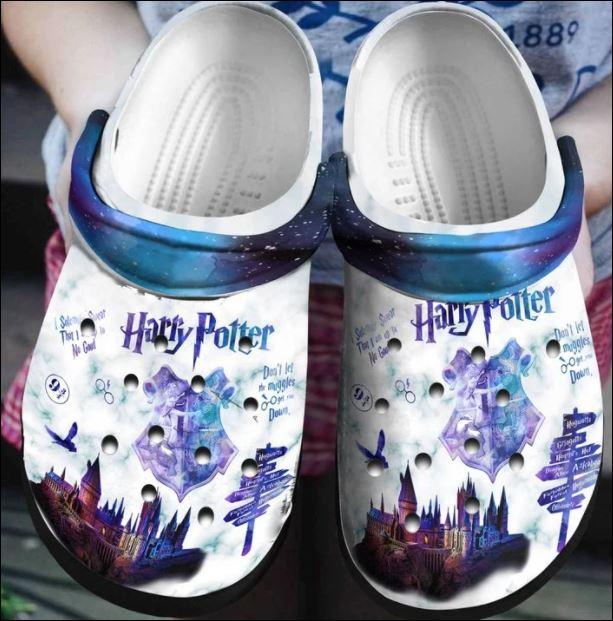 Harry Potter galaxy crocs crocband