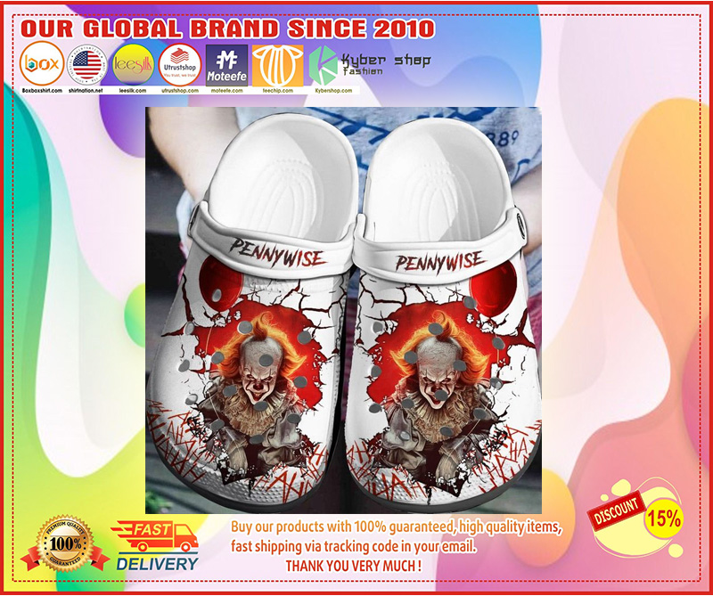IT pennywise crocband crocband crocs shoes - LIMITED EDITION