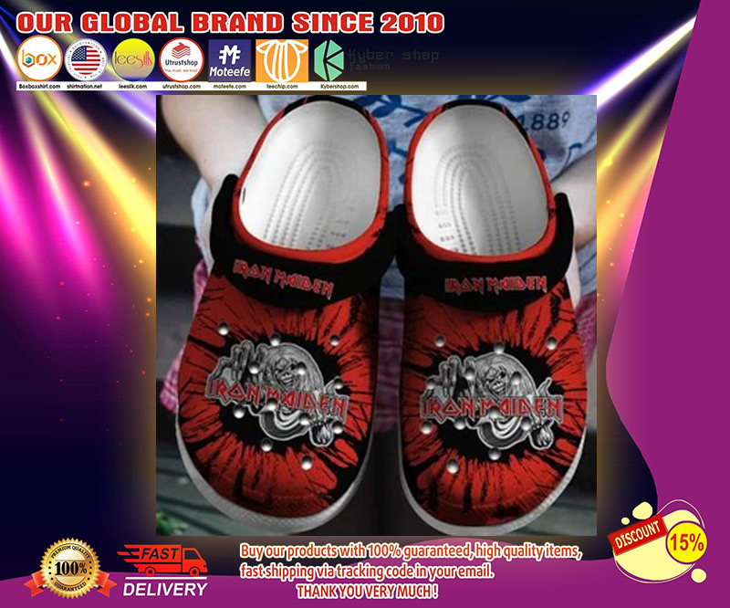 Iron Maiden crocs shoes - LIMITED EDITION