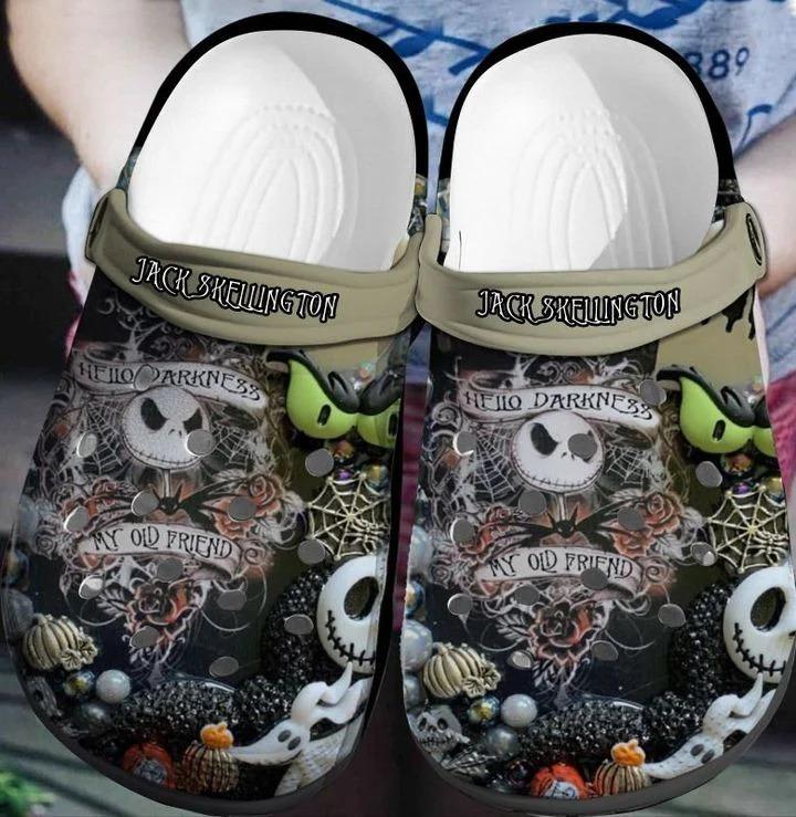 Jack Skellington crocband crocs shoes - LIMITED EDITION