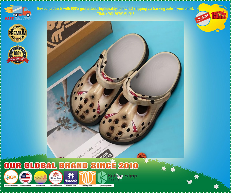 Jason Vooheers crocband crocs shoes - LIMITED EDITION