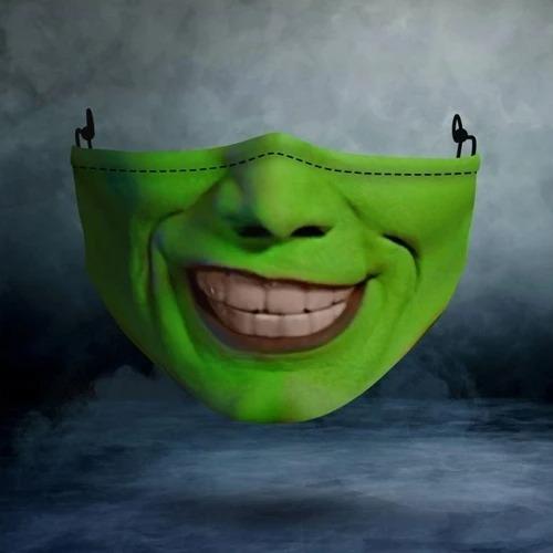 Jim carrey the mask face mask