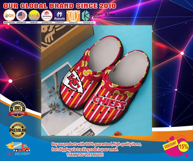 Kansas Chief city crocs shoes