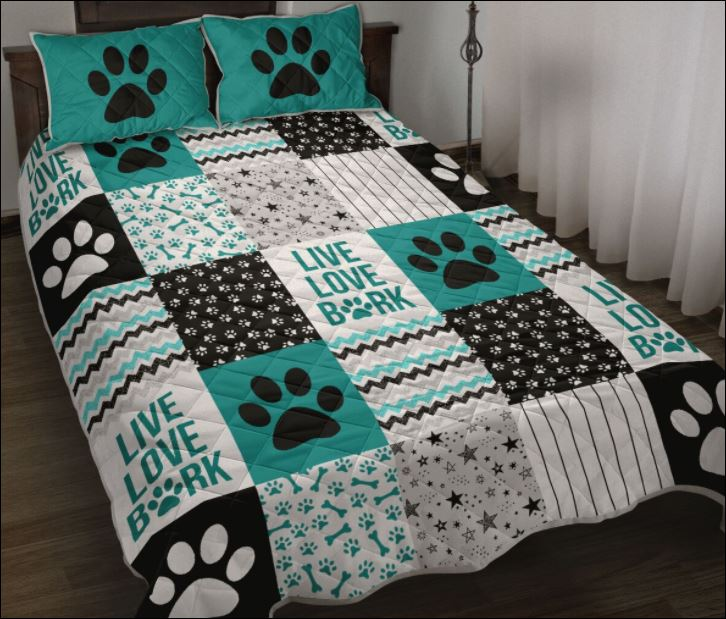 Live love bark quilt