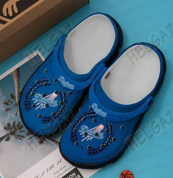 Los angeles dodgers crocband crocs shoes