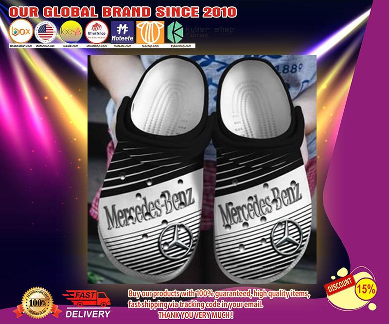 Mercedes Benz crocs shoes - LIMITED EDITION