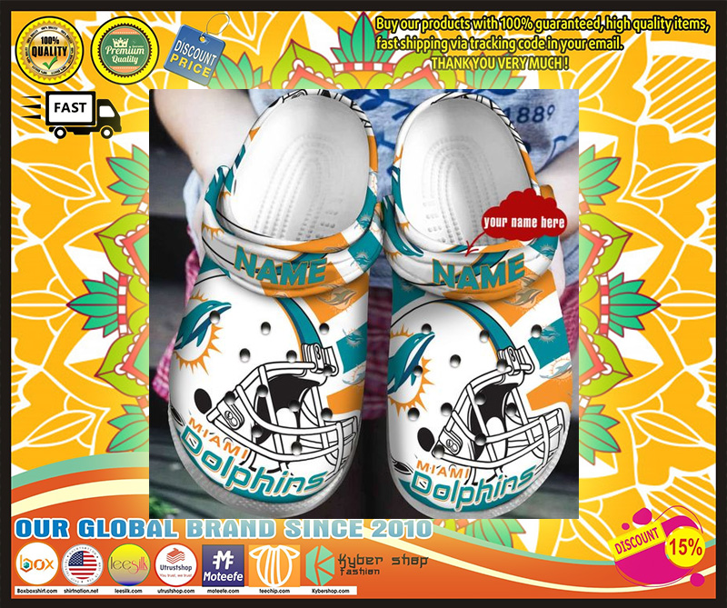 Miami dolphins croc shoes - LIMITED EDITION