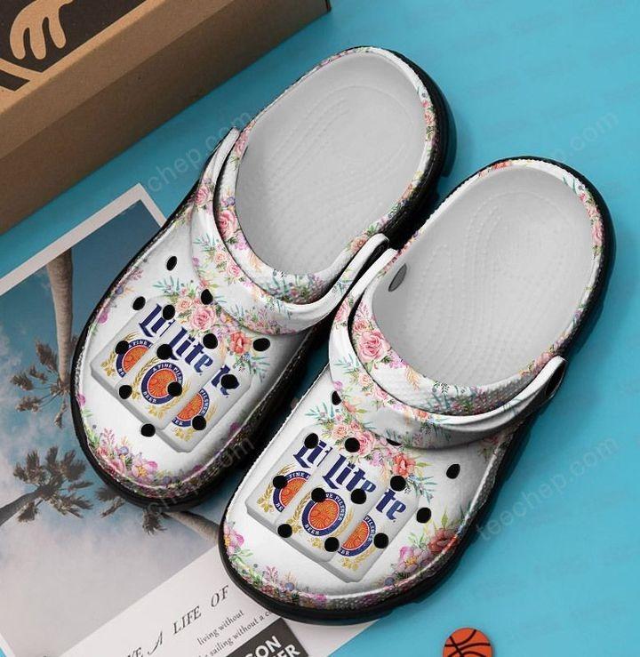 Miller lite crocband crocs shoes