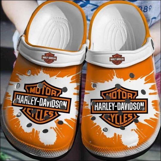 Motor Harley Davidson crocs crocband