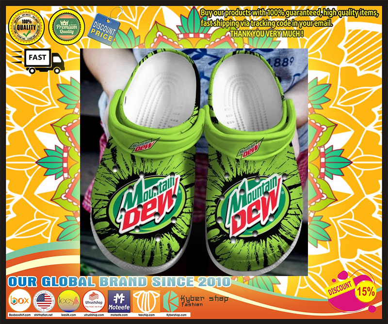 Mountain dew crocband crocs shoes - LIMITED EDITION