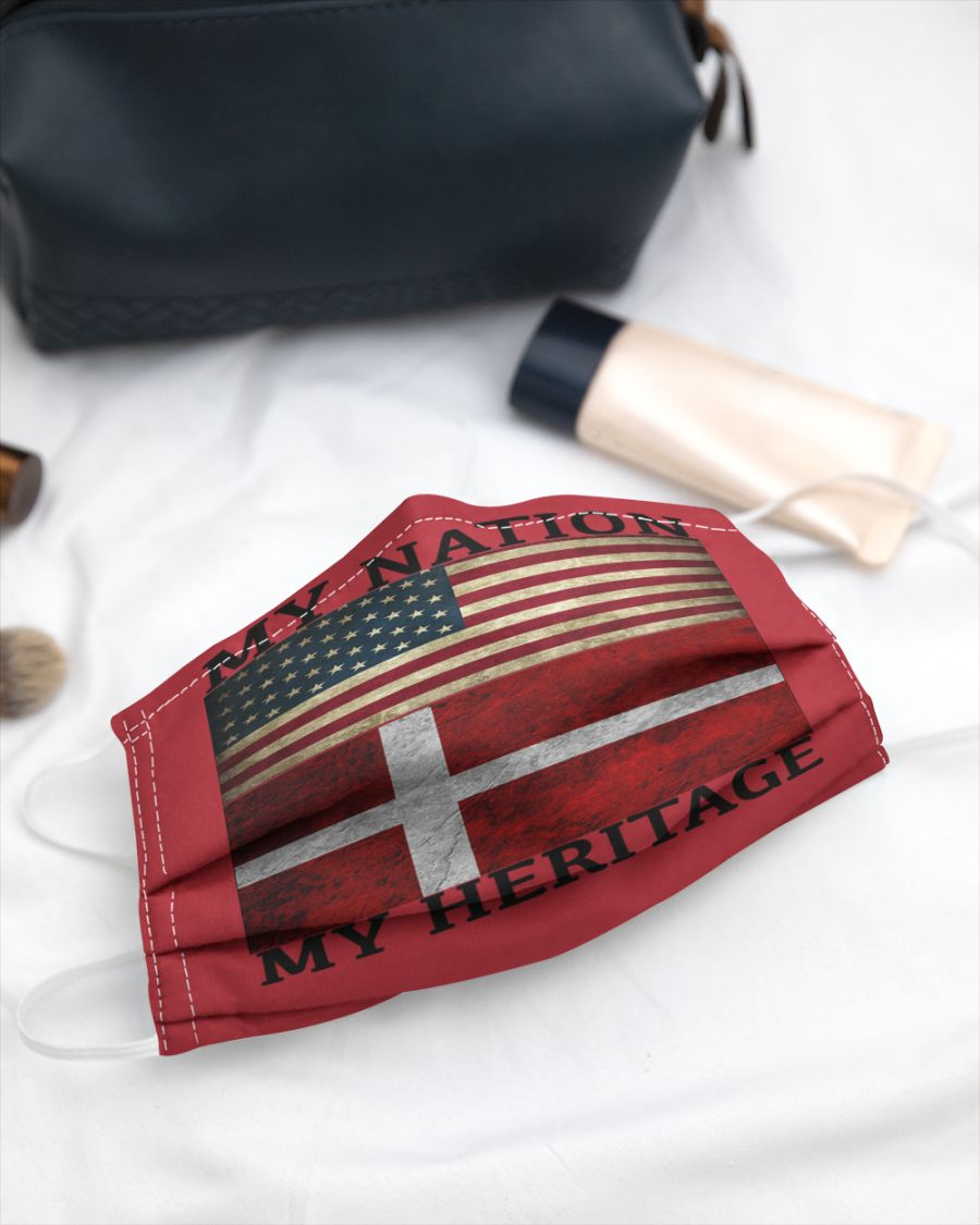 My nation my heritage face mask 2