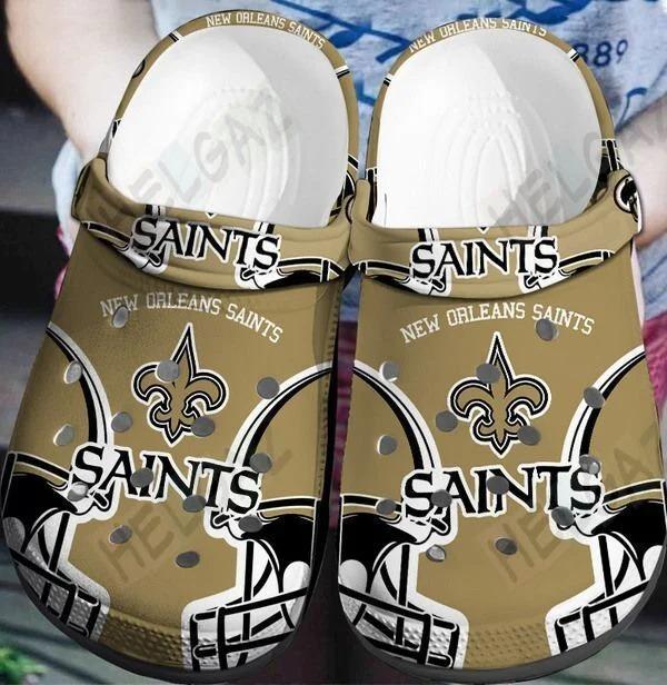New orleans saints crocs crocband clog