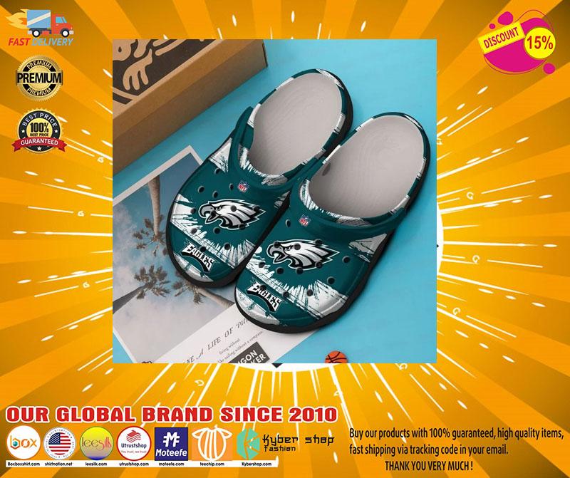 Philadelphia Eagles crocband crocs shoes - LIMITED EDITION