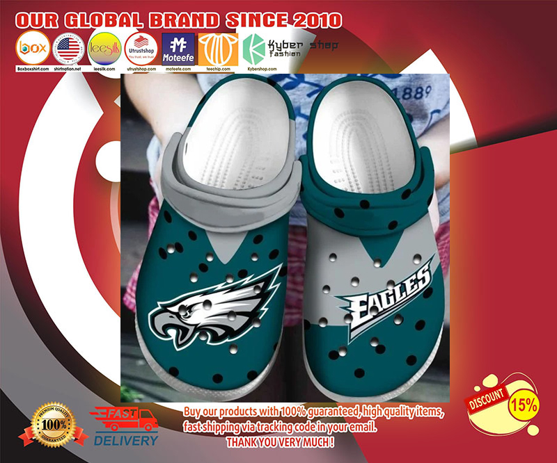Philadelphia Eagles crocs shoes - LIMITED EDITION