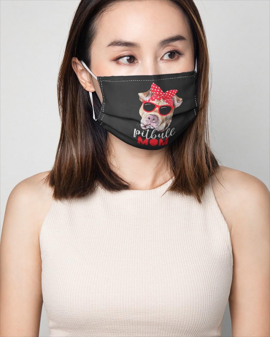 Pitbull mom face mask 3