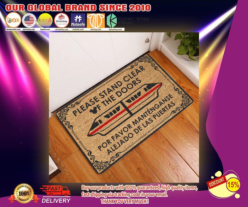 Please stand clear of the doors doormat - LIMITED EDITION