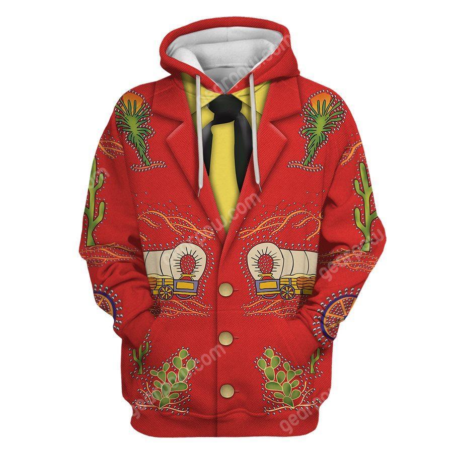 Porter Wagoner Costume Cosplay 3D AOP hoodie