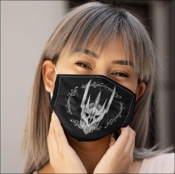Sauron lort face mask