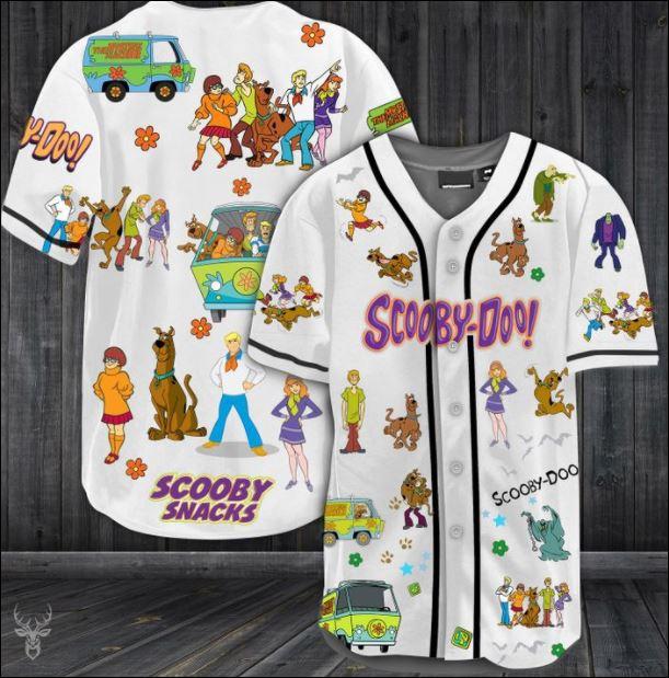 Scooby Doo baseball shirt