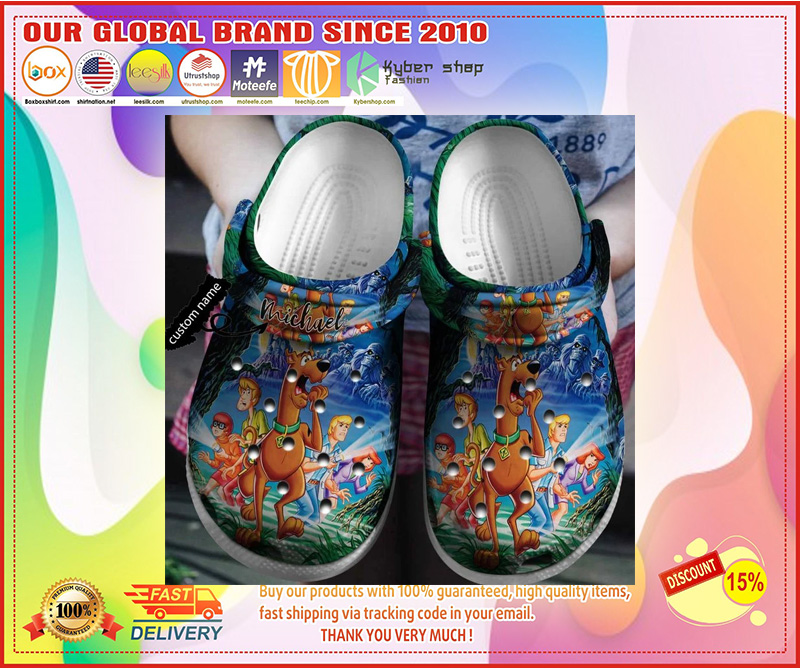 Scooby-doo crocband crocs shoes - LIMITED EDITION
