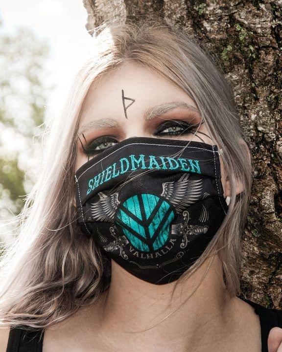 Shieldmaiden valhalla face mask
