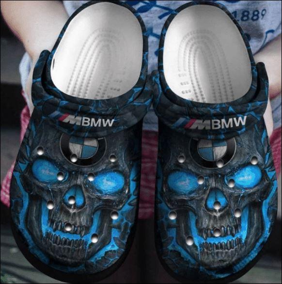 Skull BMW crocs crocband