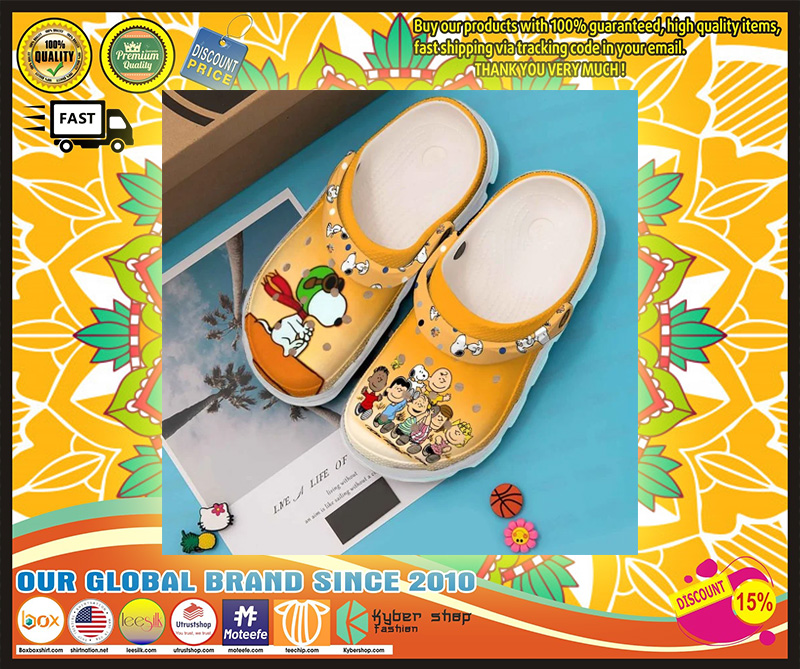 Snoopy Peanuts crocband crocs shoes - LIMITED EDITION