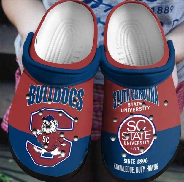 South Carolina State university Bulldogs crocs crocband