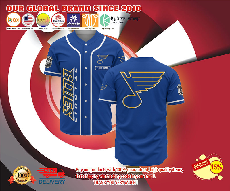 St.Louis Blues baseball jersey shirt - LIMITED EDITION