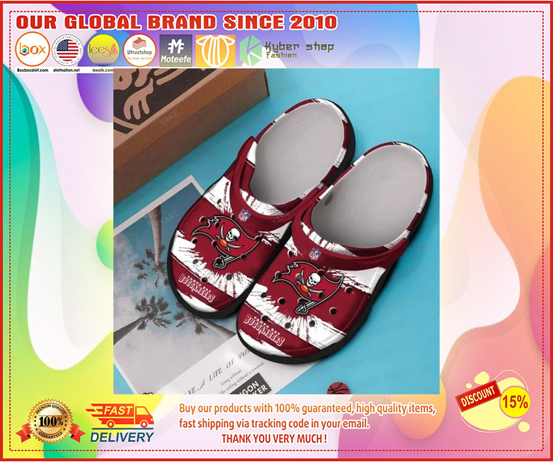 Tampa Bay Buccaneers croc shoes - LIMITED EDITION