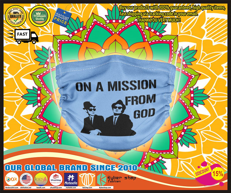 The Blues Brothers On a mission from God mask – LIMITED EDITION
