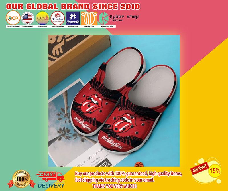 The rolling stones crocs shoes