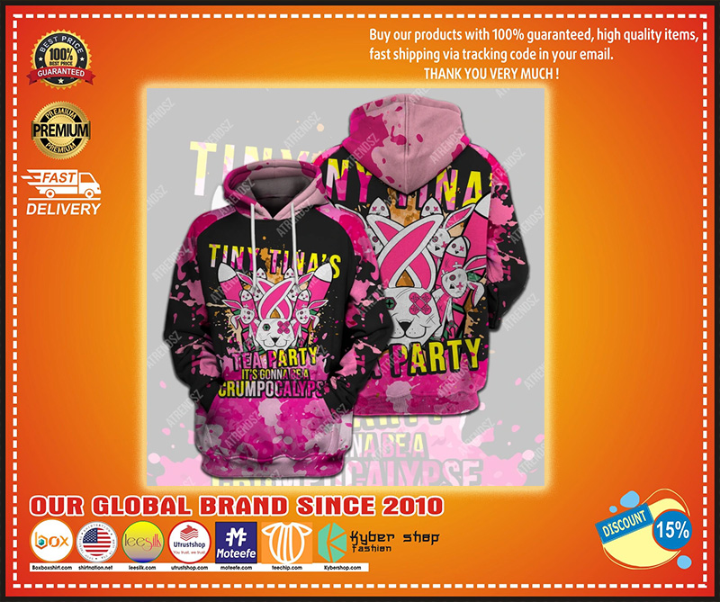 Tiny Tina's tea party It's gonna be crumpocalyps 3d hoodie – LIMITED EDITION