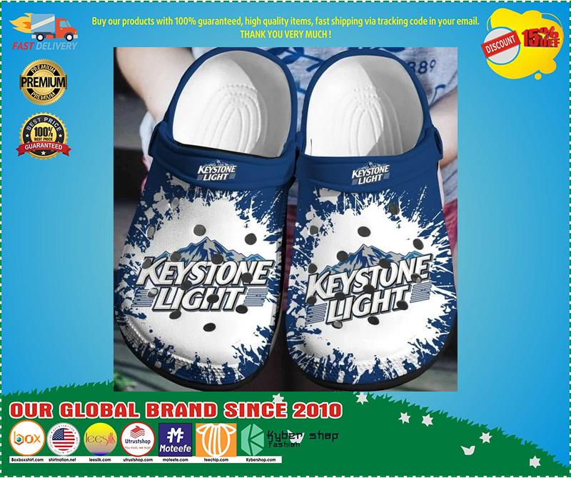 US keystone light crocband crocs shoes - LIMITED EDITION